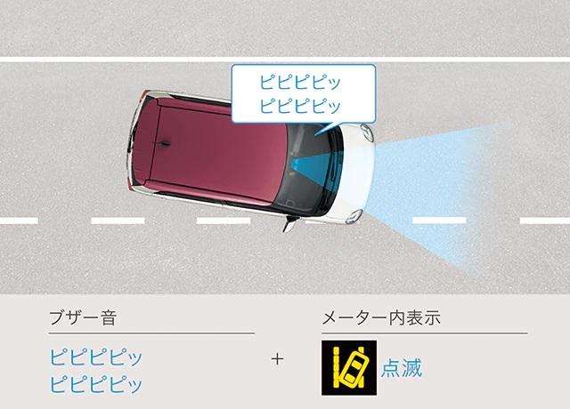 ピクシスジョイ 自動ブレーキ